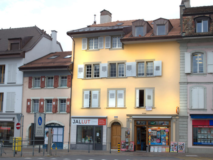 Transformation et création d'appartements dans un immeuble classé à Morges