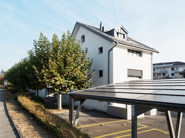 Rénovation de l'enveloppe de deux bâtiments à Préverenges