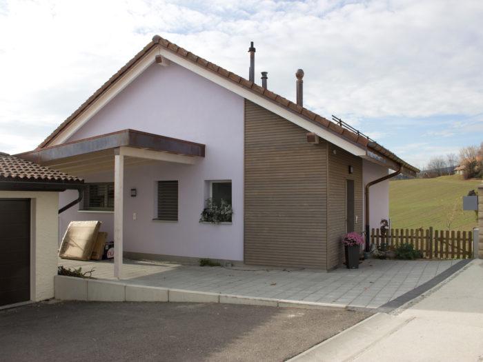 Villa en ossature bois à Reverolle