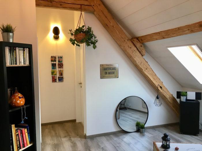 Transformation des combles d'une maison villageoise aux Clées