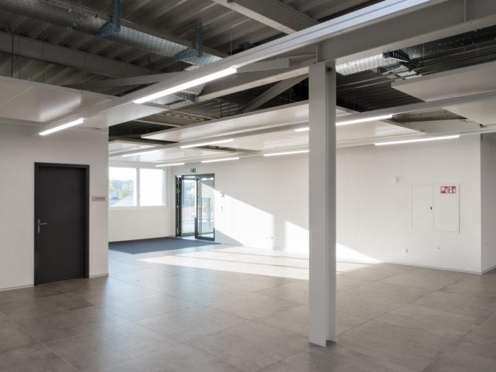 Administratif, surface d'exposition, magasin et halle de stockage à Echandens