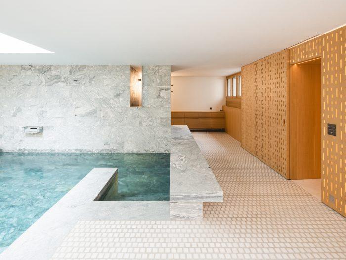 Construction d'une piscine intérieure – Pied du Jura