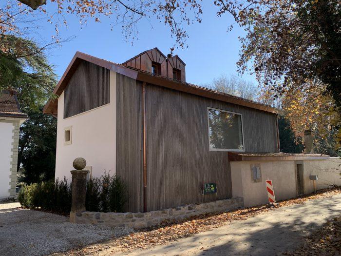 Transformation et agrandissement d'une maison villageoise à Chigny