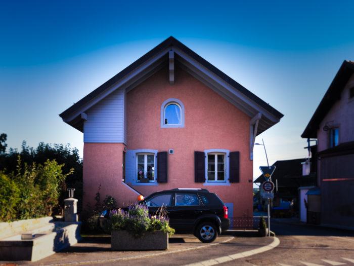 Surélévation d'une maison villageoise à Clarmont