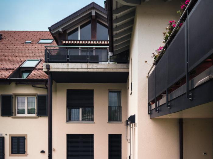 Transformation d'un ensemble d'immeuble comprenant 12 appartements à Cheseaux-sur-Lausanne