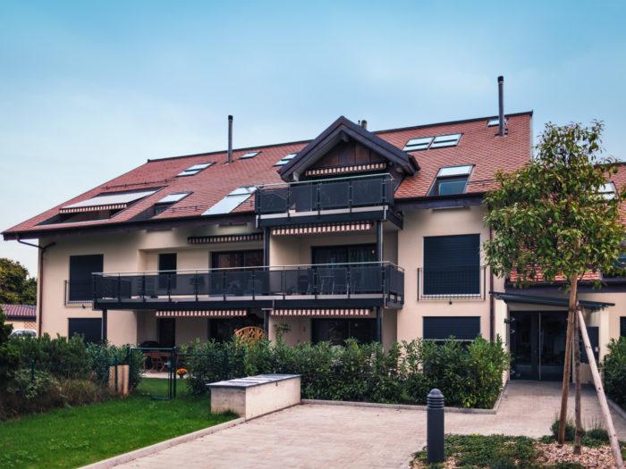 Immeuble de 15 appartements avec parking souterrain de 22 places à Cheseaux-sur-Lausanne