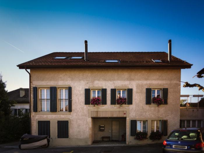 Création de 3 appartements dans une maison villageoise à Pampigny
