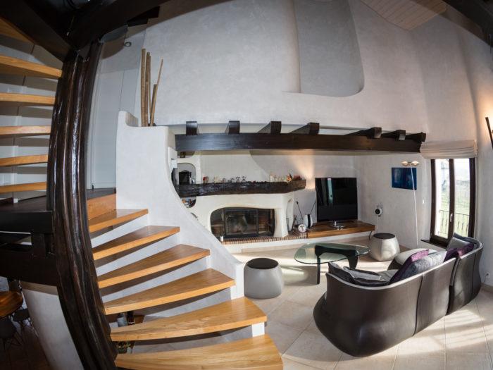 Transformations intérieures d'une maison villageoise à Clarmont