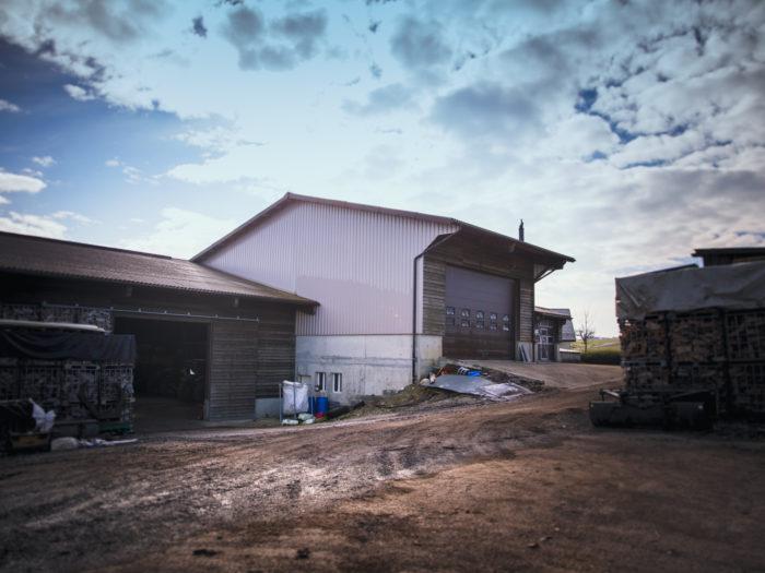 Hangar agricole à Pampigny