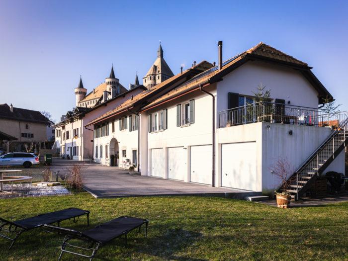 Création de 4 appartements dans un rural à Vufflens-le-Château