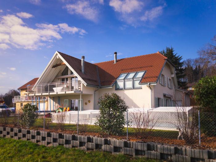 Villa individuelle à Cottens