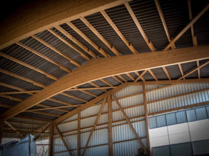 Hangar agricole à Sévery