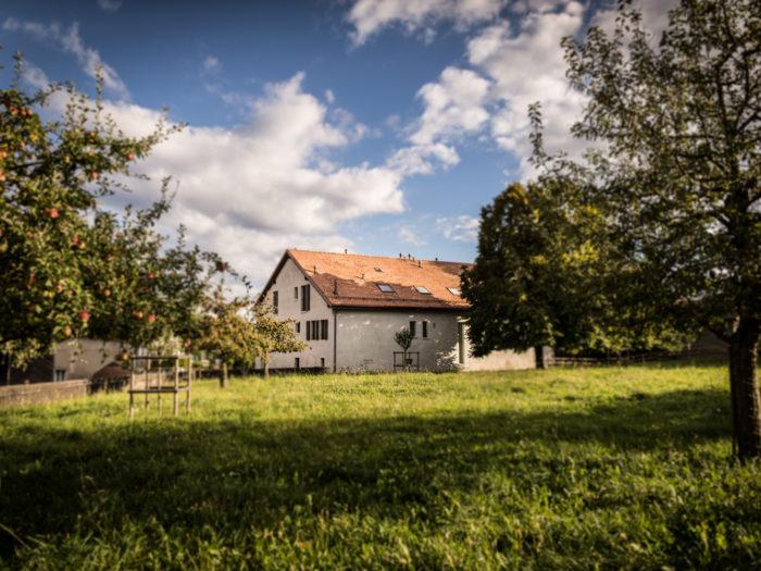 Création de 4 appartements dans un rural à Apples