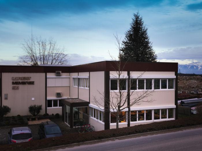 Bâtiment administratif à Aclens