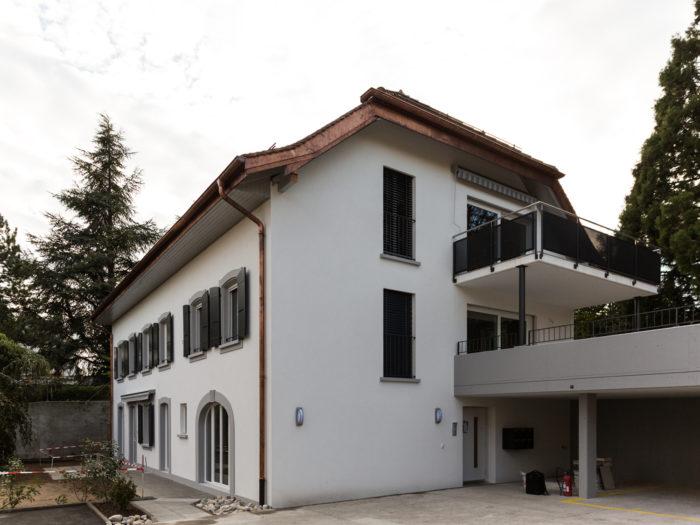 Création de 5 appartements dans une maison villageoise à Pampigny